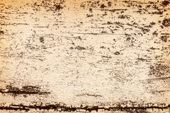 Peeling paint on weathered wood as a detailed background Royalty Free Stock Image