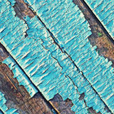 Peeling paint on wood background. Royalty Free Stock Photo