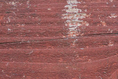 Peeling Paint on Wood - Background. Wood with Red Peeling Paint as a Background Texture stock images