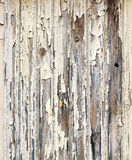 Peeling paint wooden surface Stock Photo