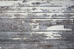 Peeling paint wooden wall background texture Royalty Free Stock Photography