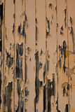 Peeling Painted Timber Wall Stock Images