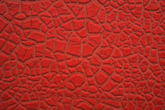 Peeling red texture 1 Royalty Free Stock Photography