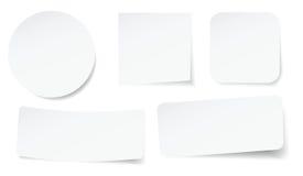 Peeling stickers Stock Photos