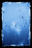 Peeling Textured Grunge Background. With black border royalty free stock photos