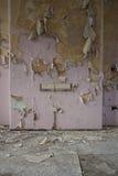 Peeling wallpaper Stock Images