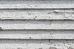 Peeling white paint Royalty Free Stock Image