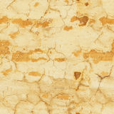 Peeling yellow wall seamless pattern royalty free stock photography