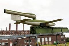 PEENEMUENDE, ALLEMAGNE - 21 septembre 2017 : Territoire du centre de recherche d'armée Fusées V-1 et V-2 développées par WW-II Vu Photo stock