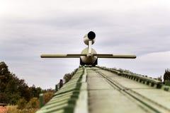 PEENEMUENDE, ALLEMAGNE - 21 septembre 2017 : Territoire du centre de recherche d'armée Fusées V-1 et V-2 développées par WW-II Vu Images libres de droits
