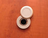 Peep hole Stock Image
