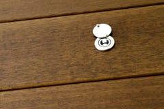 Peep Hole. Modern wooden Door Peep Hole Stock Photography
