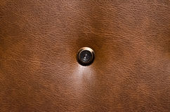 peephole Photo stock