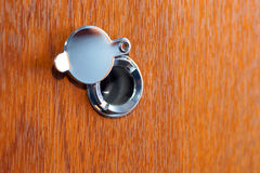 Peephole Royalty Free Stock Image