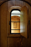 peepholefönster Arkivfoton