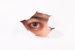 peeping Стоковое фото RF