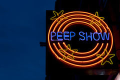 Peepshow Stock Photography