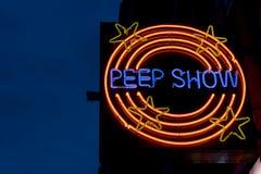 peepshow Στοκ Φωτογραφία