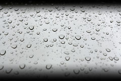 Pefect water drops Royalty Free Stock Image