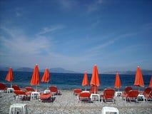 Pefki, console de Evia, Greece imagens de stock