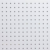 Peg board. White peg board for background stock images