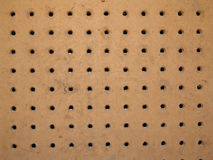 Peg board Stock Photography