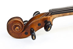 Peg of the violin Royalty Free Stock Photos