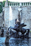 Pegaso fountain and  garden of villa lante Royalty Free Stock Photo