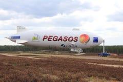 Pegasos Zeppelin NT in Jamijarvi, Finland Stock Image