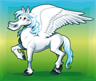 Pegasus. stock illustratie