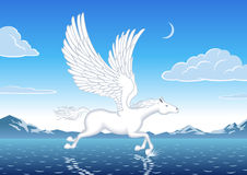 Pegasus Foto de Stock Royalty Free