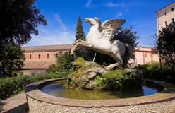 Pegasus 2. Pegasus of Villa d'Este in Tivoli Royalty Free Stock Images