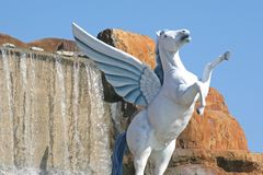 Pegasus Photographie stock