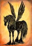 pegasus royalty ilustracja
