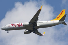Pegasus Airlines Royalty Free Stock Images