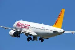 Pegasus Airlines Airbis Image libre de droits