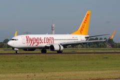 Pegasus Airlines Boeing 737-86N Obraz Royalty Free