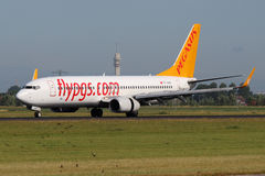Pegasus Airlines Boeing 737-86N Royalty Free Stock Image