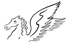 Pegasus Royalty Free Stock Image