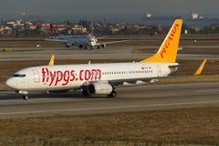 Pegasus Boeing 737 Στοκ Εικόνες