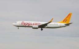 Pegasus Boeing 737 Arkivfoto