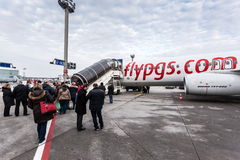 Pegasus Boeing 737-800 flygplan Royaltyfri Bild
