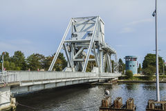 Pegasus-Brücke Lizenzfreies Stockbild