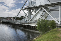 Pegasus bridge Royalty Free Stock Images