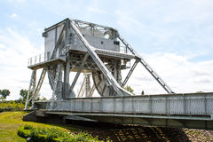 Pegasus bridge in france second World War. Stock Images
