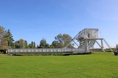 Pegasus Bridge, Normandy. Pegasus Bridge from the Normandy landings in France stock images