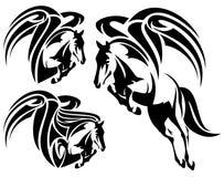 Pegasus design Arkivbild
