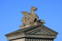 Pegasus di pietra fotografia stock