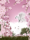 Pegasus fairy tale Royalty Free Stock Image