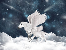 Pegasus fairy tale Royalty Free Stock Photography